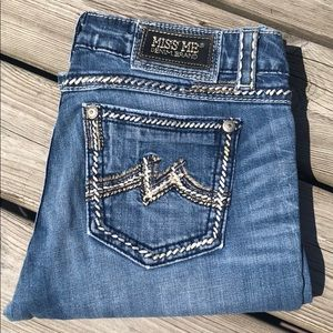 👖 Miss Me Jeans Easy Boot JE1043EX Size 29 Pants